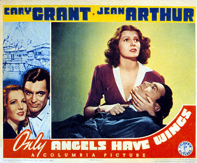 Only Angels Have Wings, Cary Grant Poster