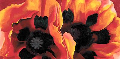 Orange Flowers  Poster by Sumit Mehndiratta
