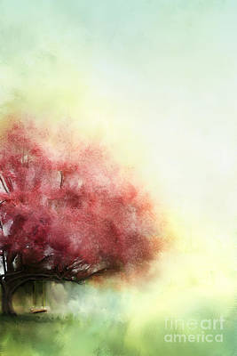 Painted Spring Poster by Stephanie Frey
