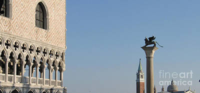 Palace Ducal. Venice Poster by Bernard Jaubert