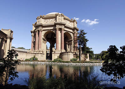 Poster featuring the photograph Palace Of Fine Arts by Denise Pohl