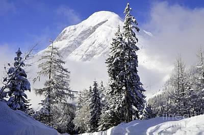 Peak In The Alps Poster