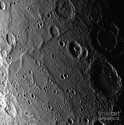 Planet Mercury Poster by Nasa