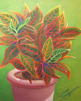Plant Portrait I Poster