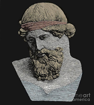 Plato, Ancient Greek Philosopher Poster by Science Source
