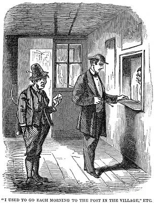 Post Office, C1860 Poster