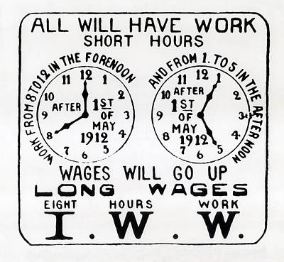 Poster Promoting The I.w.w. Campaign Poster