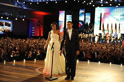 President And Michelle Obama Poster