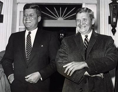 President-elect John F. Kennedy Poster by Everett