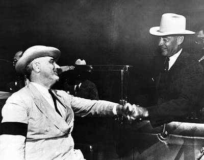President Franklin D. Roosevelt, Meets Poster by Everett
