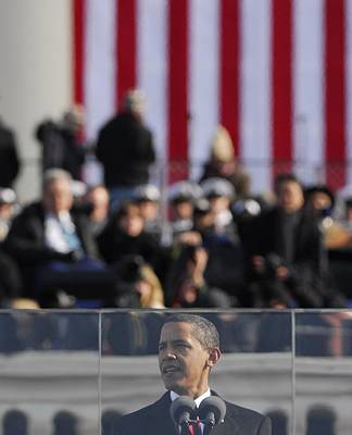 President Obama Delivers His Inaugural Poster