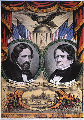 Presidential Campaign, 1856 Poster