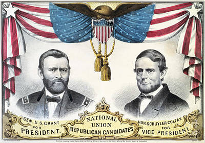 Presidential Campaign, 1868 Poster by Granger