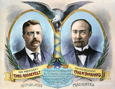Presidential Campaign, 1904 Poster by Granger