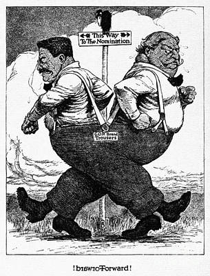 Presidential Campaign, 1912 Poster by Granger