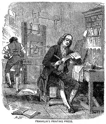 Printing, 18th Century Poster by Granger