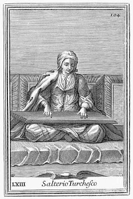 Psaltery, 1723 Poster