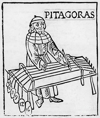 Pythagoras, Greek Mathematician Poster by Science Source