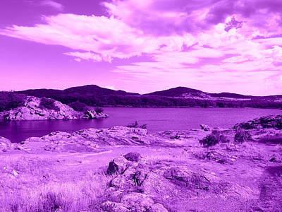 Quanah Parker Lake Poster