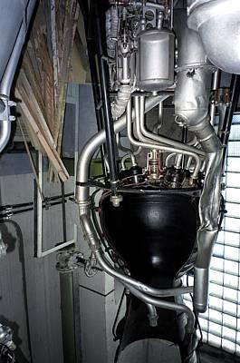R-1 Soviet Rocket Engine Poster