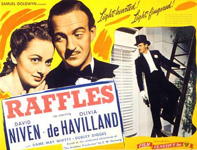 Raffles, Olivia De Havilland, David Poster by Everett