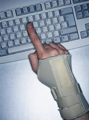 Repetitive Strain Injury Poster