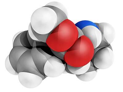 Ritalin Molecule Poster by Laguna Design