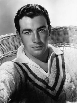 Robert Taylor, Mgm Portrait By Hurrell Poster by Everett