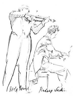 Rudolf Serkin (1903-1991) Poster by Granger