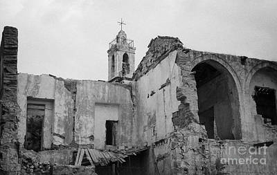 Ruins In The Grounds Of The Armenian Church And Monastery Of Notre Dame De Tyre Nicosia  Poster
