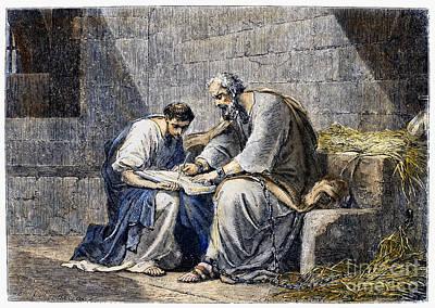 Saint Paul In Prison Poster
