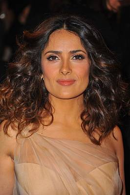 Salma Hayek At Arrivals For Alexander Poster