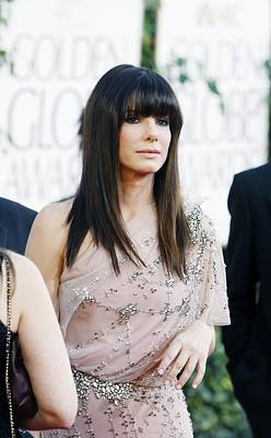 Sandra Bullock Wearing A Jenny Packham Poster by Everett