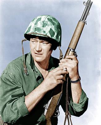 Sands Of Iwo Jima, John Wayne, 1949 Poster