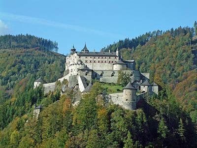 Schloss Hohenwerfen Werfen Austria Poster by Joseph Hendrix