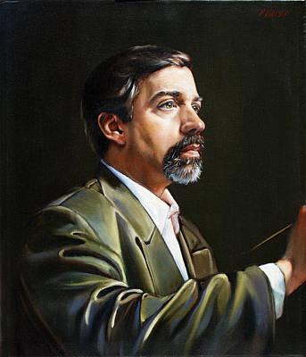 Self Portrait  Poster by Patrick Anthony Pierson