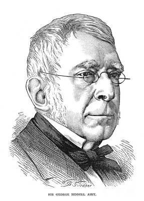 Sir George Biddell Airy Poster