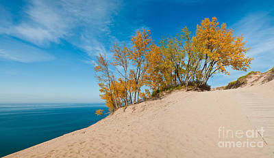 Sleeping Bear Dunes Poster by Larry Carr