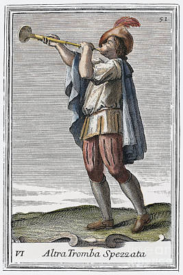 Slide Trumpet, 1723 Poster by Granger