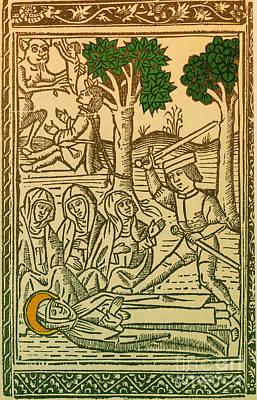 St. Catherine, Italian Philosopher Poster