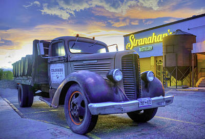 Stranahan's Whiskey Delivery Truck Poster