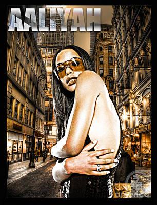 Street Phenomenon Aaliyah Poster
