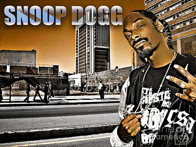 Street Phenomenon Snoop Dogg Poster by The DigArtisT