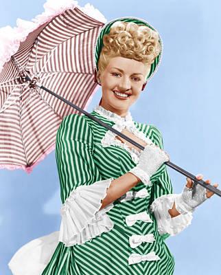 Sweet Rosie Ogrady, Betty Grable, 1943 Poster by Everett