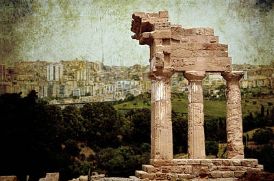 Temple Of Castor And Pollux Poster