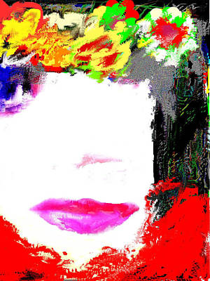 Poster featuring the digital art That Girl by Rc Rcd