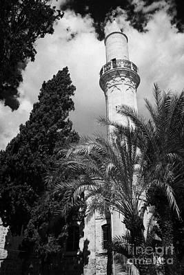 The 16th Century Grand Mosque Or Djami Kebir In Larnaca Republic Of Cyprus Poster
