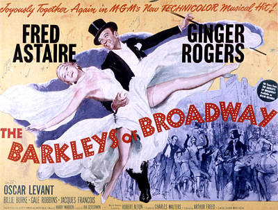 The Barkleys Of Broadway, Fred Astaire Poster by Everett