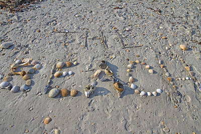 The Beach Poster by Betsy Knapp