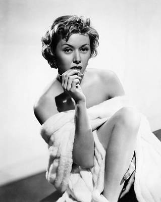 The Big Heat, Gloria Grahame, 1953 Poster by Everett
